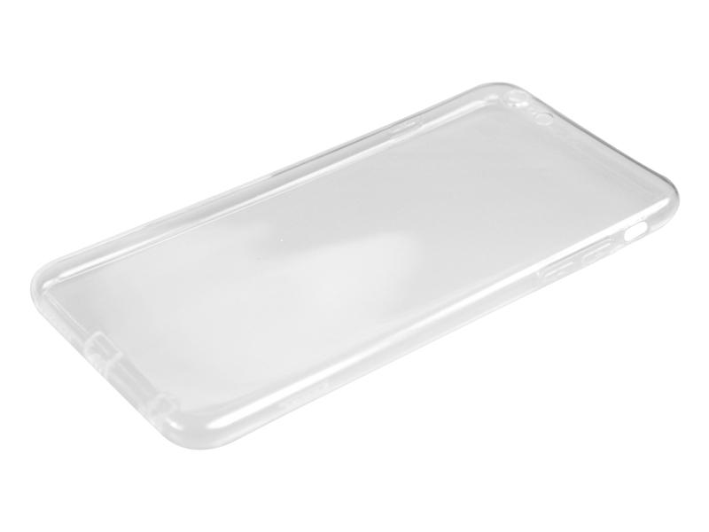 Силиконовый чехол Partner для iPhone 6 Plus, 0.6 мм, с защитой камеры и защитой разъемов, прозрачный