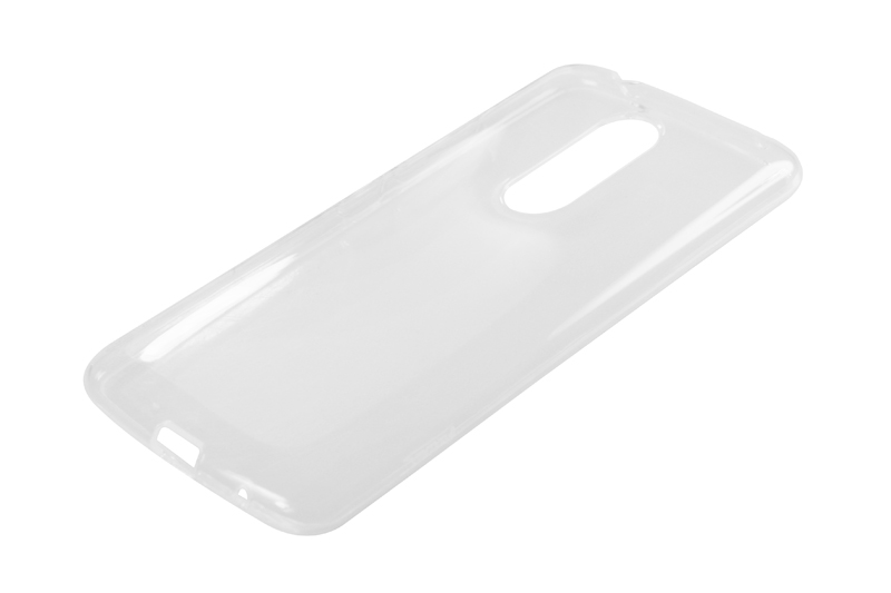 Силиконовый чехол Partner для ZTE Axon 7, 0.6 мм, прозрачный