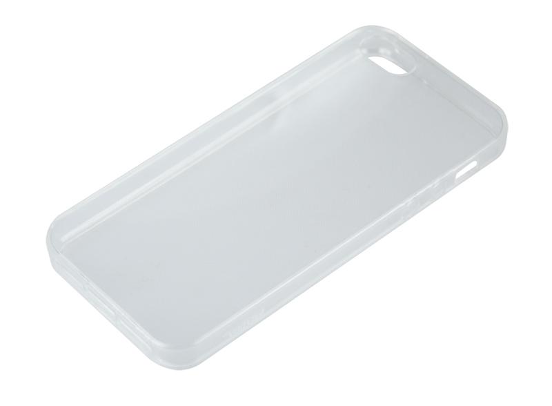 Силиконовый чехол Partner для iPhone 5/ 5S / SE, 0.6 мм, прозрачный