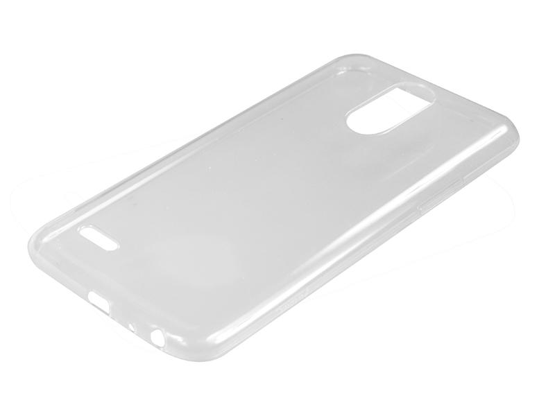 Силиконовый чехол Partner для LG Stylus 3 M400DY, прозрачный