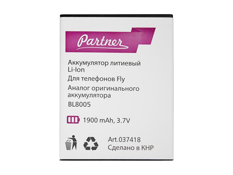 Аккумулятор Partner для Fly IQ4512 EVO Chic 4 (BL8005), 1900mah
