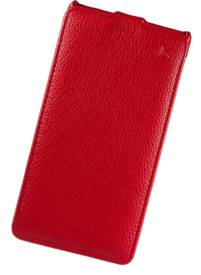 Чехол флип-кейс Partner для Sony Xperia Z1 L39h, красный