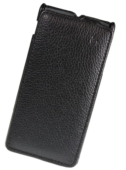 Чехол Flip-case Partner для Sony Xperia J (ST26i) черный