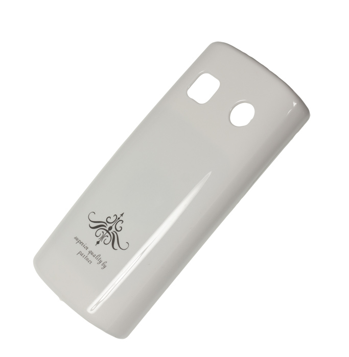 Чехол-накладка Partner для Nokia 500 (глянец белый)