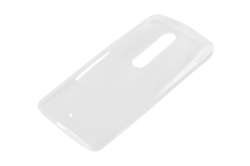 Силиконовый чехол Partner для Motorola Moto X Play, 0.6 мм, прозрачный