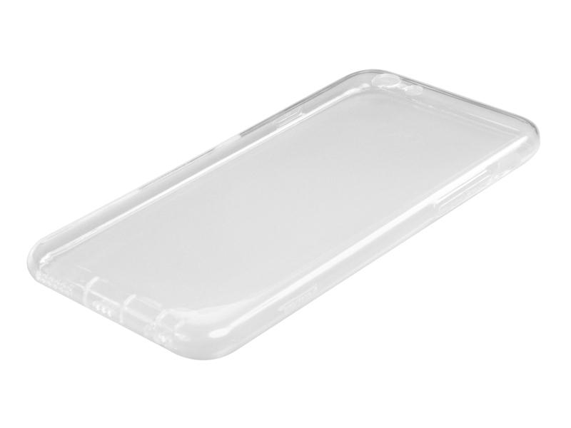 Силиконовый чехол Partner для iPhone 6, 0.6 мм, с защитой камеры и защитой разъемов, прозрачный