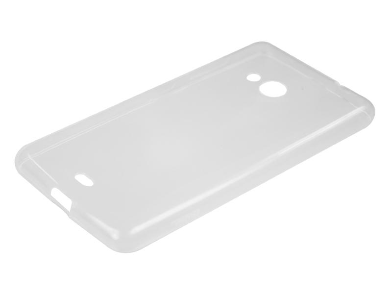 Силиконовый чехол Partner для Microsoft Lumia 535, прозрачный