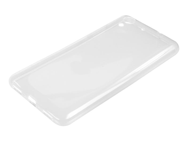 Силиконовый чехол Partner для Huawei Y6 II, 0.6 мм, прозрачный