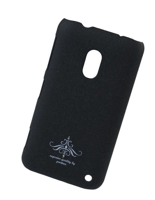 Чехол-накладка для Nokia Lumia 620 (черный матовый)