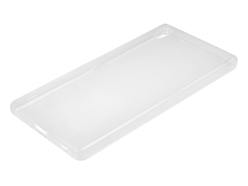 Силиконовый чехол Partner для Sony Xperia Z5 Premium, 0.6 мм, прозрачный