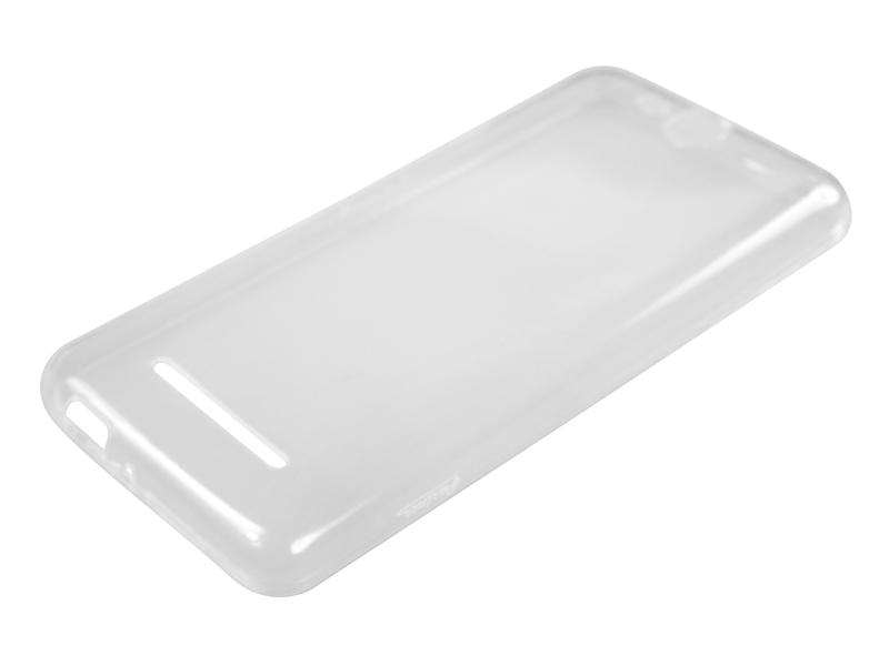 Силиконовый чехол Partner для Micromax Q392 Canvas Juice 2, 0.6 мм, прозрачный