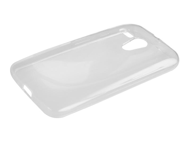 Силиконовый чехол Partner для Motorola Moto G, 0.6 мм, прозрачный