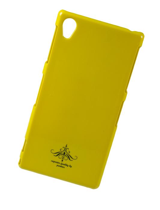 Чехол-накладка Sony Xperia Z1 C6903 (глянец желтый)