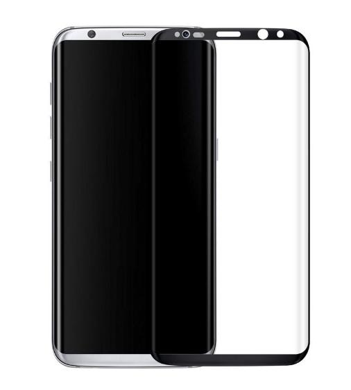 Защитное 3D-стекло Partner для Samsung Galaxy S8, черное