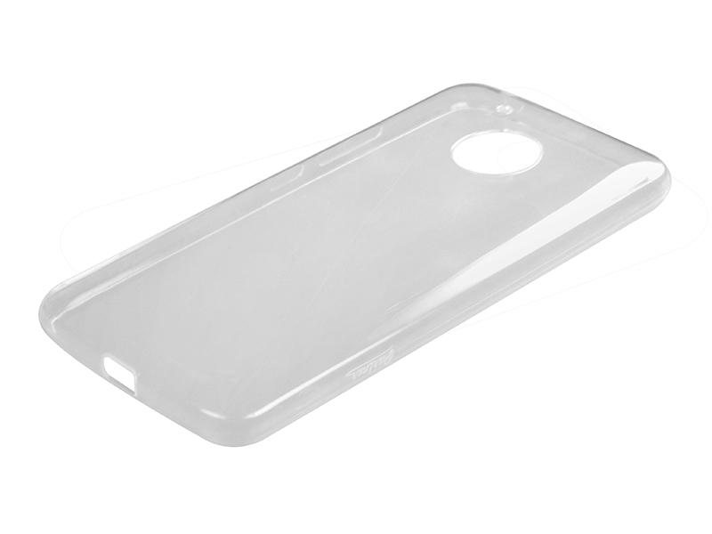 Силиконовый чехол Partner для Motorola Moto G5, прозрачный