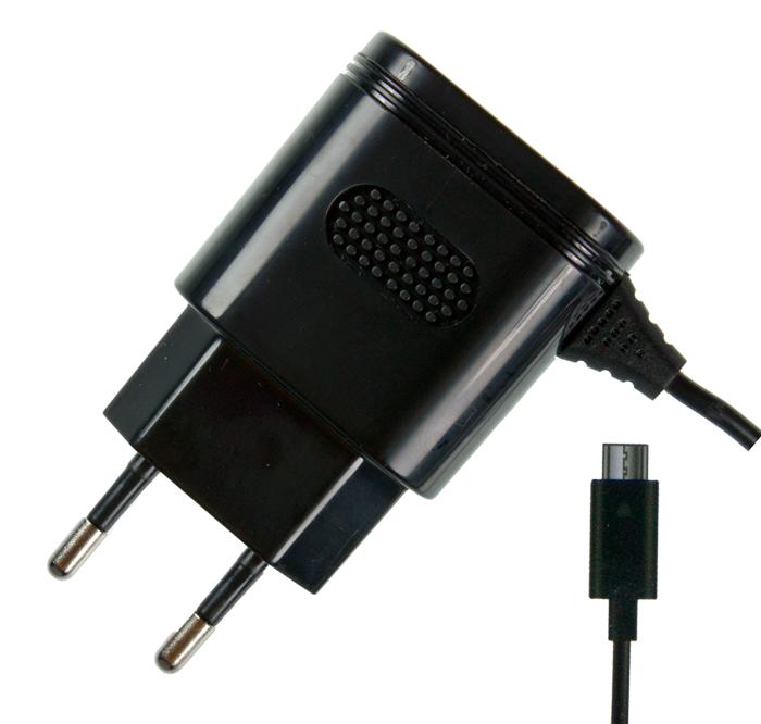 Сетевое зарядное устройство Partner 2.1 A, microUSB