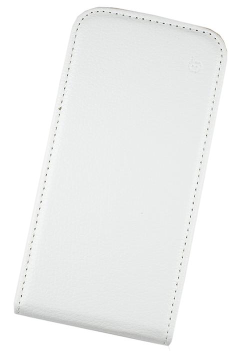 Чехол Flip-case Samsung Galaxy Premier i9260 (белый) серия Slim
