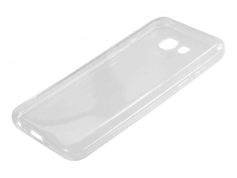 Силиконовый чехол Partner для Samsung Galaxy A3 (2017) SM-A320F, прозрачный