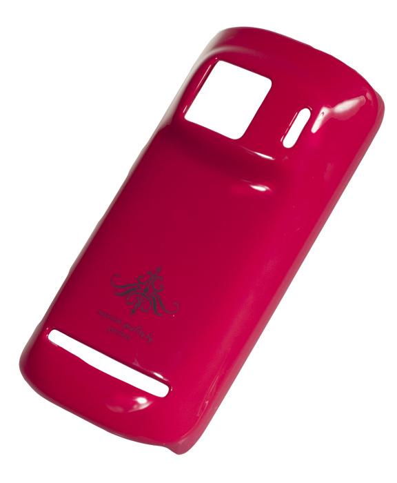 Чехол-накладка Nokia 808 PureView (глянец фуксия розовый)