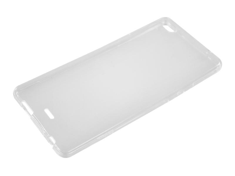 Силиконовый чехол Partner для Micromax Q450 Canvas Sliver 5, 0.6 мм, прозрачный