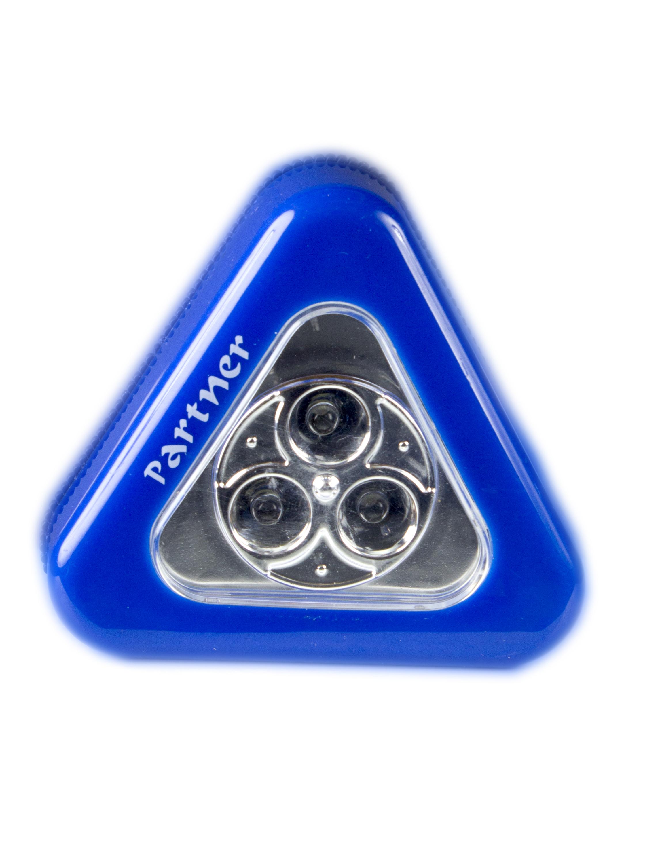 """Светодиодный фонарь-подсветка """"Backlight"""", голубой, 3 LED, 3xААA, Partner"""