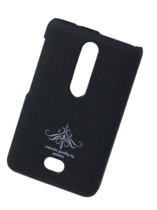 Чехол-накладка Nokia Asha 501 (черный матовый)