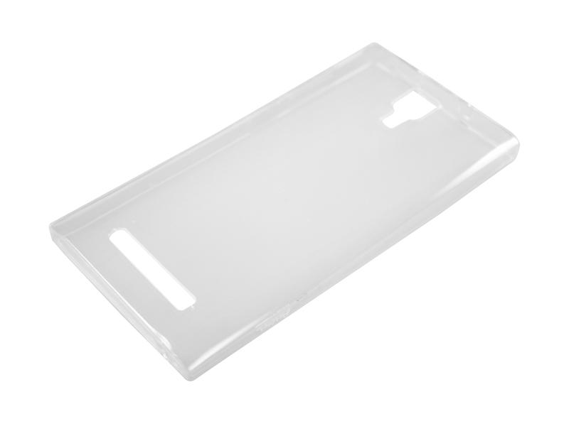 Силиконовый чехол Partner для Micromax Q413 Canvas Express 4G, 0.6 мм, прозрачный