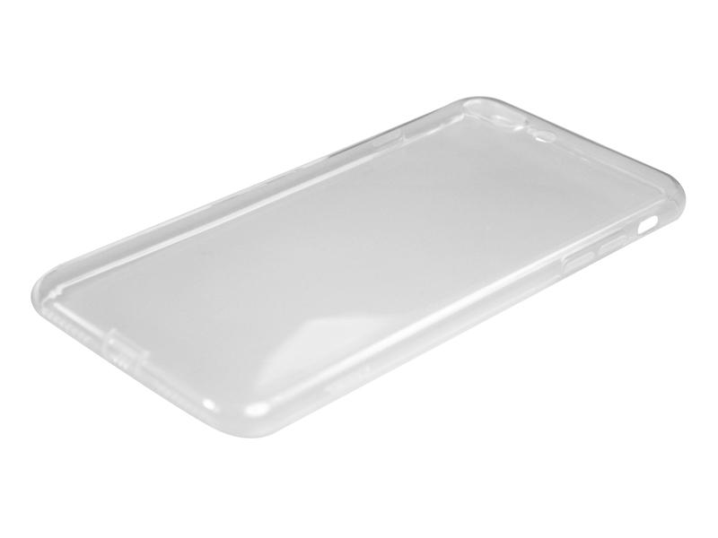 Силиконовый чехол Partner для iPhone 7 Plus, 8 Plus, 0.6 мм, с защитой камеры и защитой разъемов, прозрачный