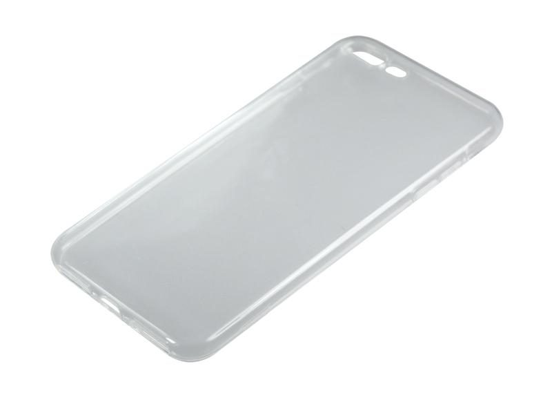 Силиконовый чехол Partner для iPhone 7 Plus, 8 Plus, 0.6 мм, прозрачный
