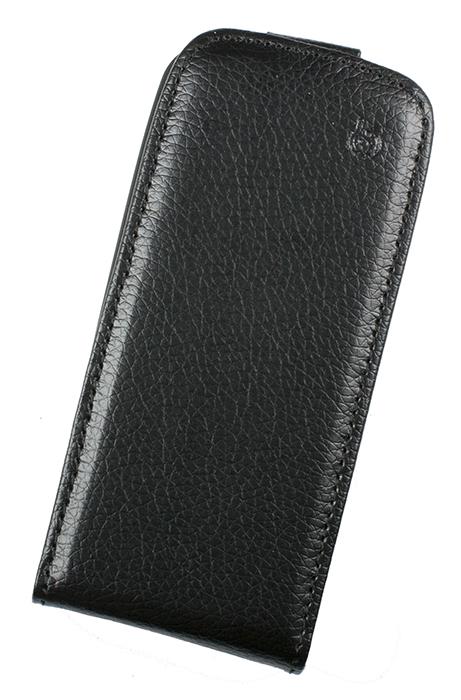 Чехол Flip-case Partner для Nokia Asha 308 (черный) серия Slim