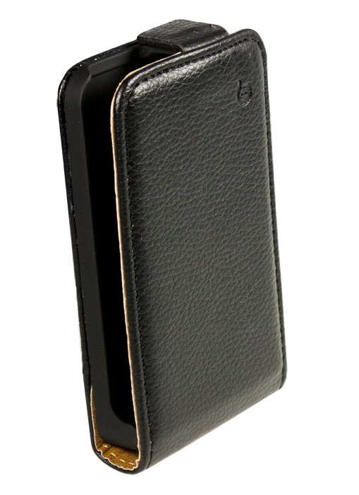 Чехол Flip-case Partner для Nokia Asha 501 (черный), серия Slim