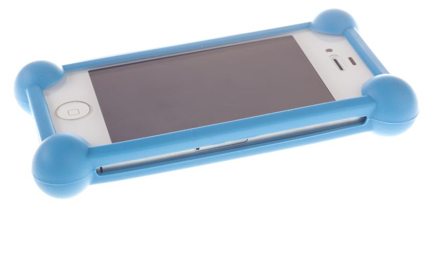Универсальный бампер для телефона, темно-синий