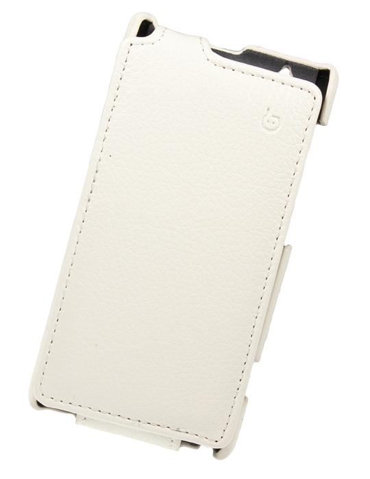 Чехол Flip-case Sony Xperia L S36h (белый)