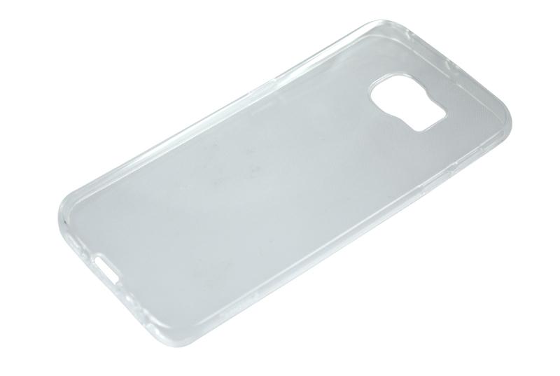 Силиконовый чехол Partner для Samsung Galaxy S6 Edge, 0.6 мм, прозрачный