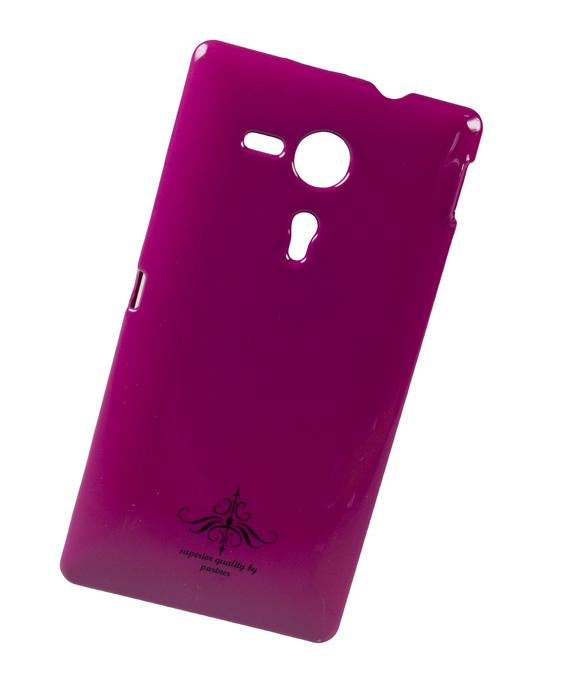 Чехол-накладка Sony Xperia SP C5303 (глянец фуксия)