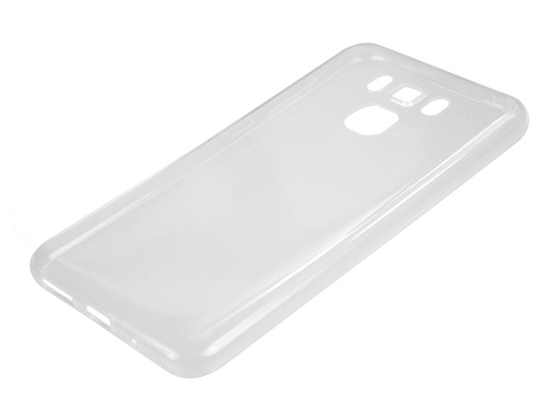 Силиконовый чехол Partner для ASUS ZenFone 3 Max ZC553KL, прозрачный