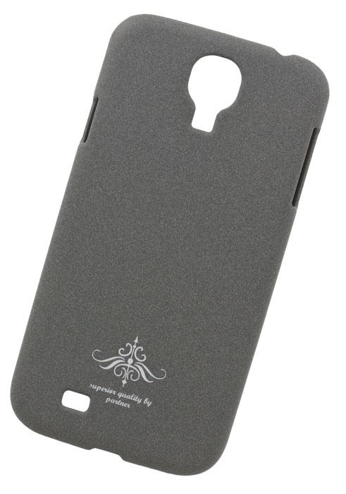 Чехол-накладка Partner для Samsung Galaxy S4 i9500 (матовый серый)