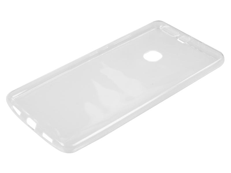 Силиконовый чехол Partner для Huawei Honor V8, прозрачный, с защитой камеры
