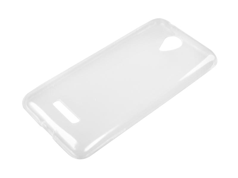 Силиконовый чехол Partner для Micromax Q380 Canvas Spark, 0.6 мм, прозрачный