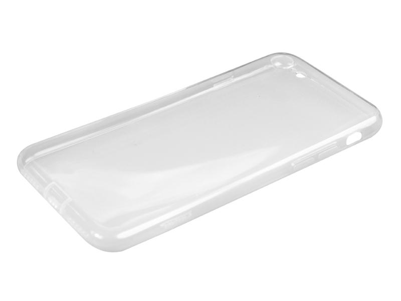 Силиконовый чехол Partner для iPhone 7, 8, 0.6 мм, с защитой камеры и защитой разъемов, прозрачный