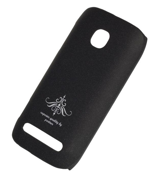 Чехол-накладка Nokia 603 (черный матовый)