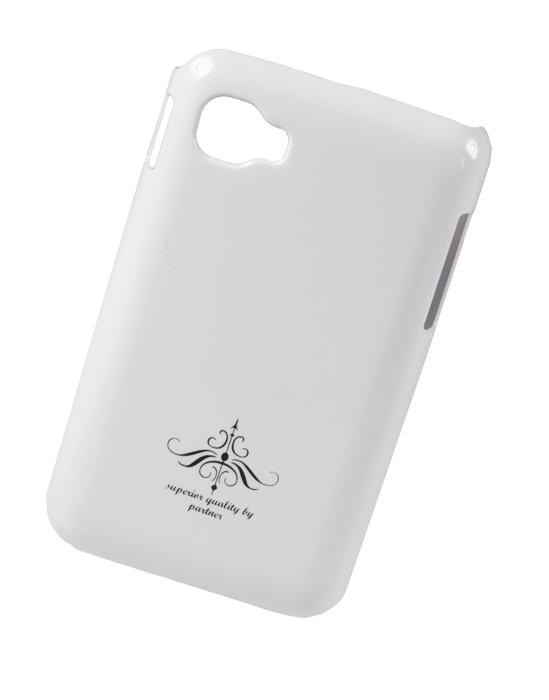Чехол клип-кейс (накладка) Partner для LG Optimus L4 II E440, глянец белый