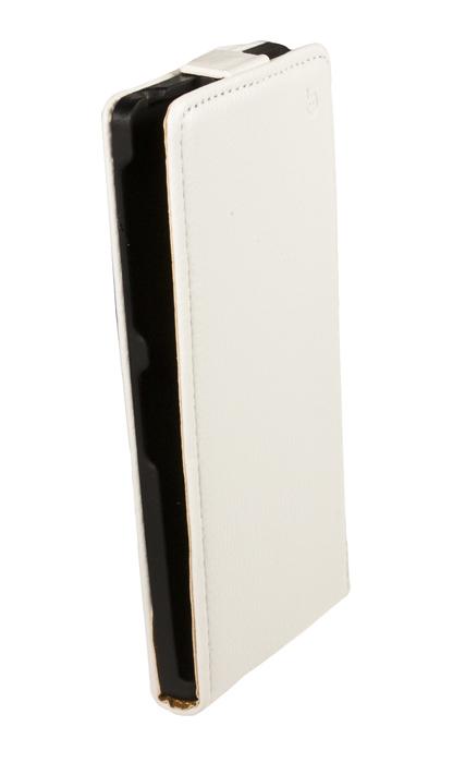 Чехол Flip-case Partner для Sony Xperia Z1 C6903 (белый), серия Slim