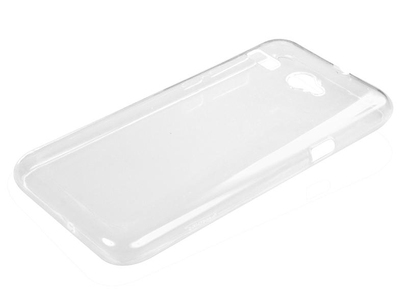 Силиконовый чехол Partner для Micromax Q346 Bolt, 0.6 мм, прозрачный