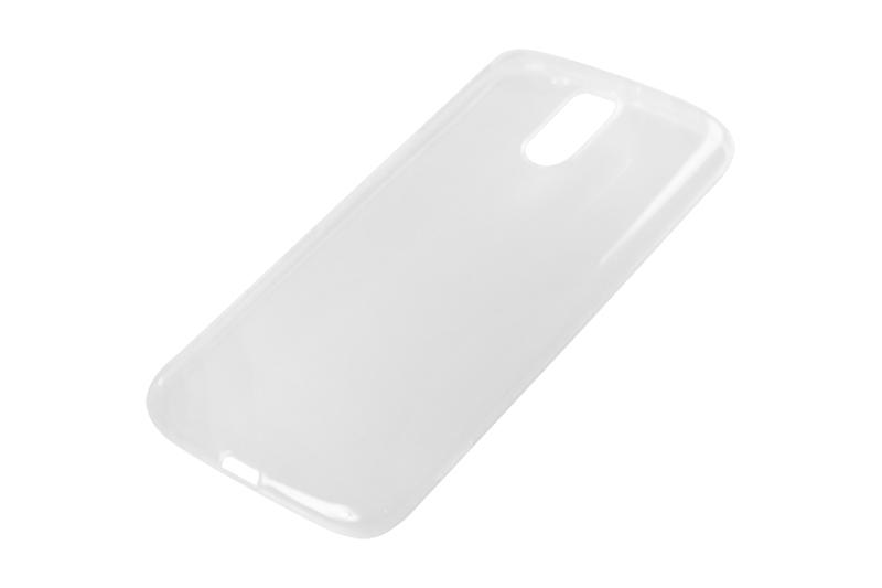Силиконовый чехол Partner для Motorola Moto G4 Plus, 0.6 мм, прозрачный