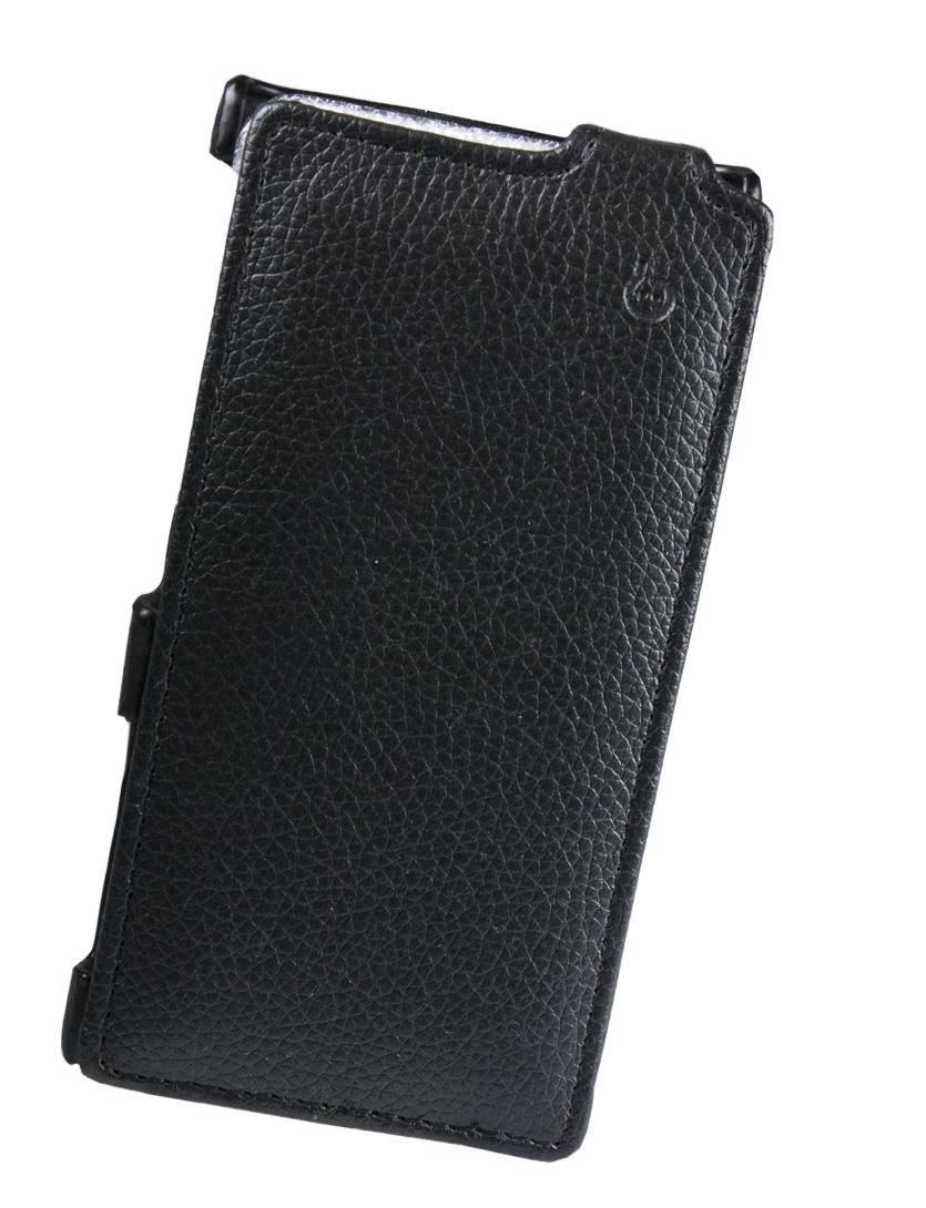 Чехол Flip-case Partner для Sony LT26w-Xperia Acro S (черный)