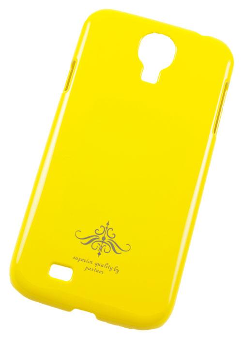 Чехол-накладка Samsung Galaxy S4 i9500 (глянец желтый)