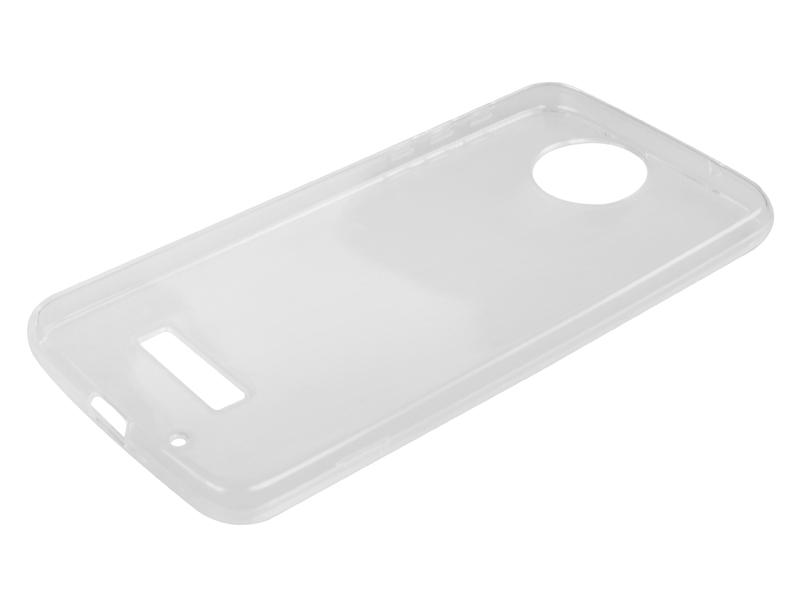 Силиконовый чехол Partner для Motorola Moto Z Force, прозрачный, с защитой камеры