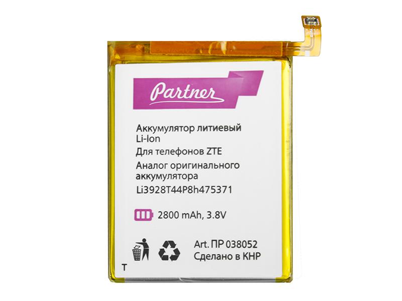 Аккумулятор Partner ZTE Li3928T44P8H475371, CS-ZTC880SL, 2800mAh