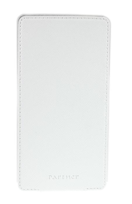 """Универсальный чехол Partner Flip-case 3,8"""" (белый)"""